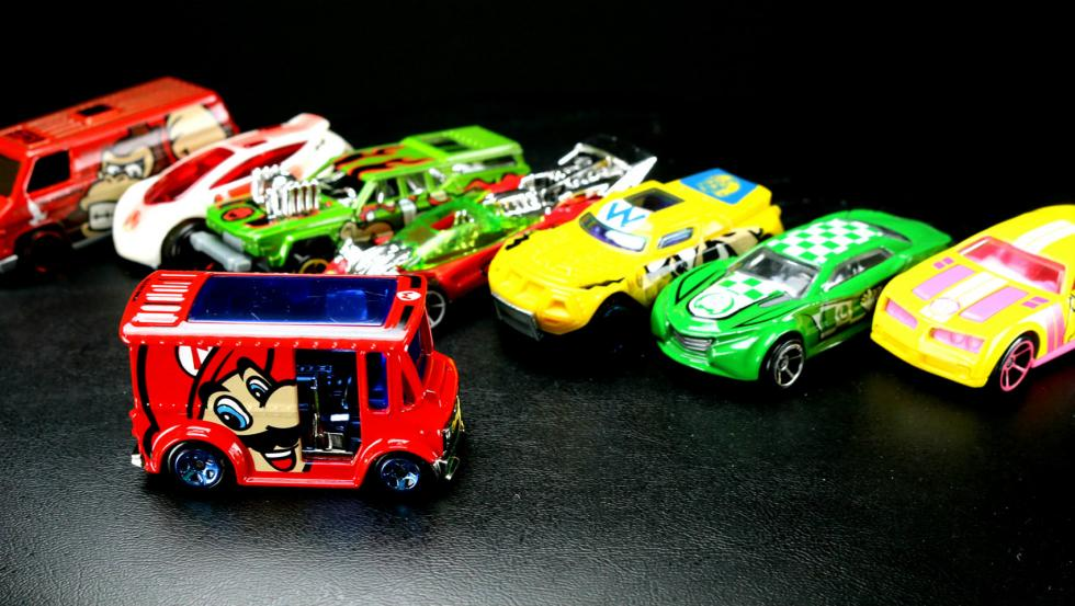 Hot Wheels de Super Mario