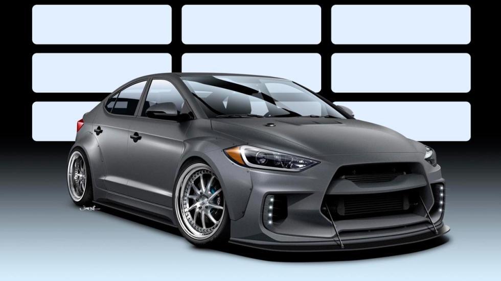 Hyundai Elantra ARK Road Racer sema show preparaciones tuning