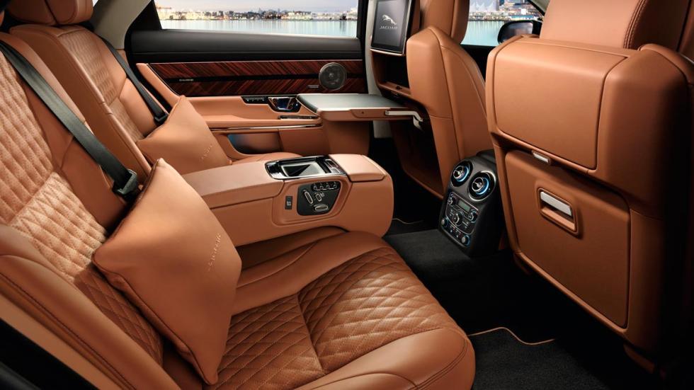 Jaguar XJ L berlina lujo britanica sedán superlujo
