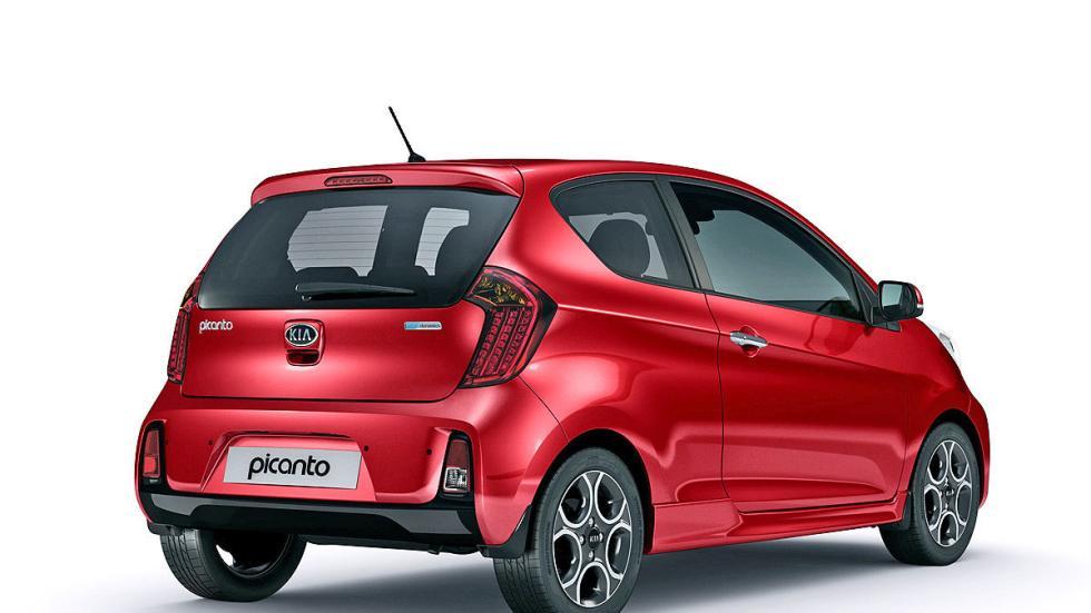 Kia Picanto utlitario coreano pequeño coches