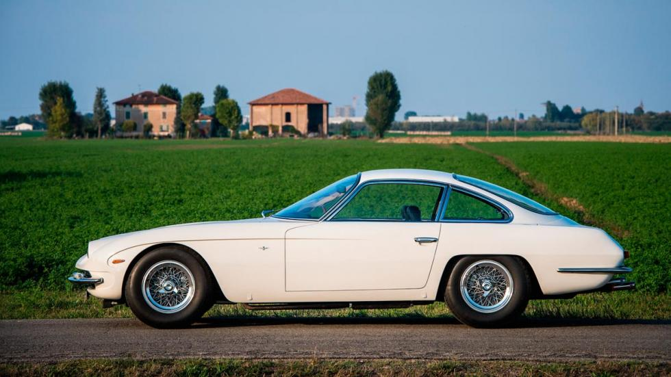 Lamborghini 350 GT clásico restaurado lujo deportivo berlinetta blanco