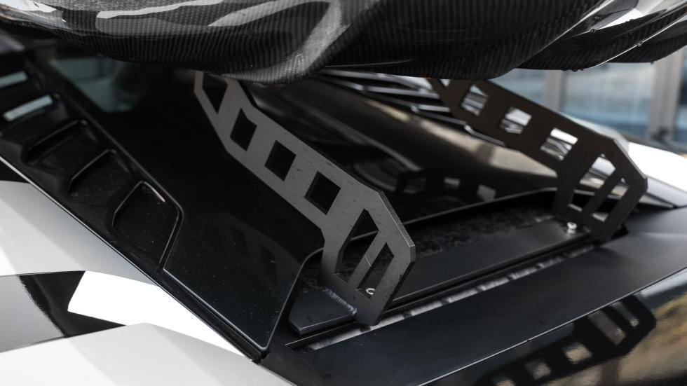 Lamborghini Huracán Jon Olsson preparaciones deportivo esquí portaesquís baca
