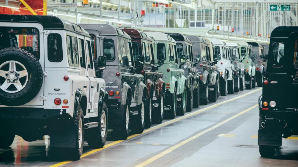 Land Rover Defender 2018
