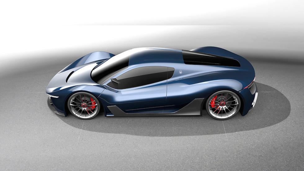 Maserati MC-63 prototipo deportivo hyperdeportivo andrea ortile diseño render