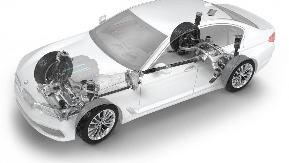 En medio, más mecánicas de cuatro y seis cilindros y el xDrive