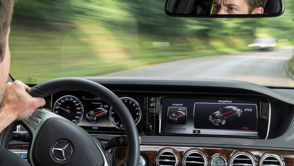 Los mejores coches para huir de tu ex - Mercedes-Benz Clase S 500 e