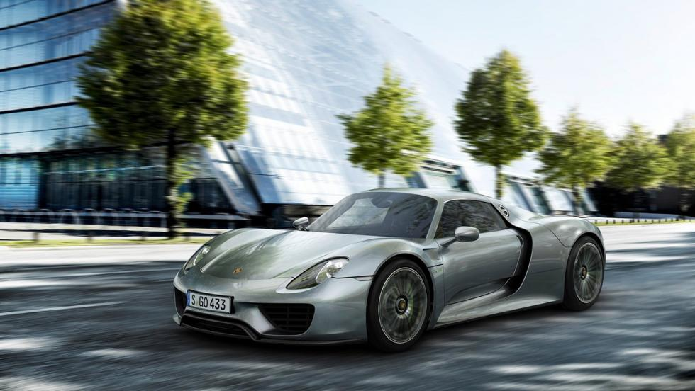Los mejores coches para huir de tu ex - Porsche 918 Spyder