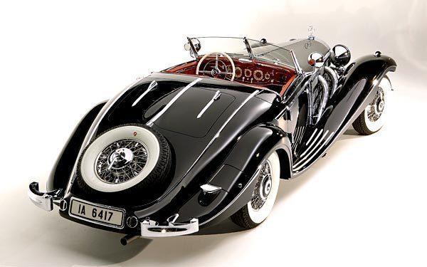 Mercedes 540K roadster cabrio: El presunto coche de Eva Braun