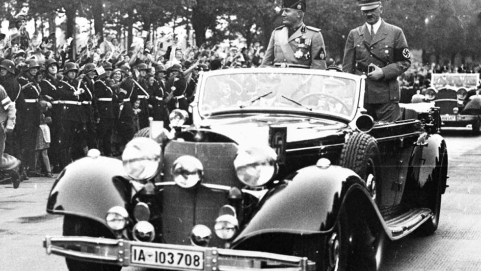 Mercedes 770K: Hitler y Mussolini