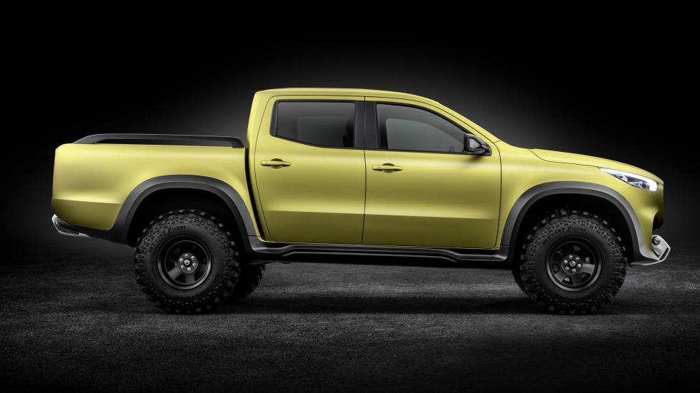 Mercedes Clase XC Pick Up Concept 'powerful adventurer'