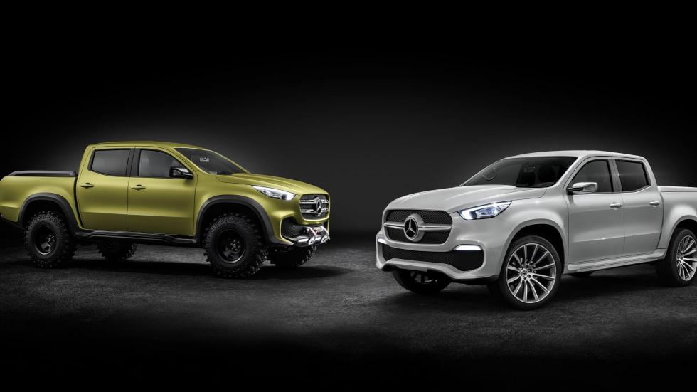 Mercedes Clase XC Pick Up Concept 'powerful adventurer' y 'stylish concept'
