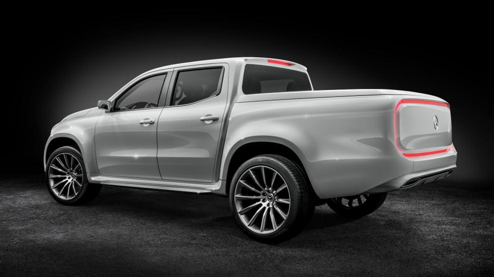 Mercedes Clase XC Pick Up Concept 'stylish concept'