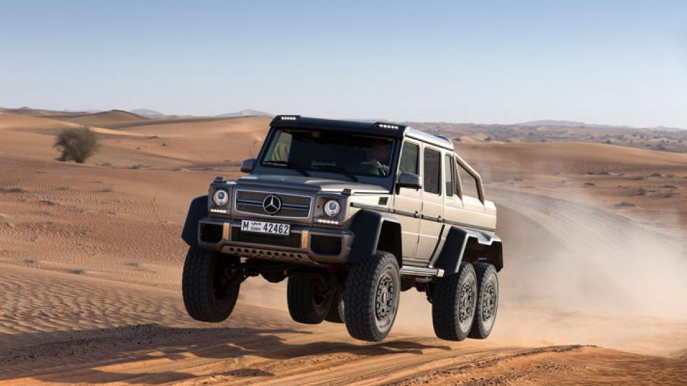 Mercedes G 63 AMG 6x6 salto pick-up pick up