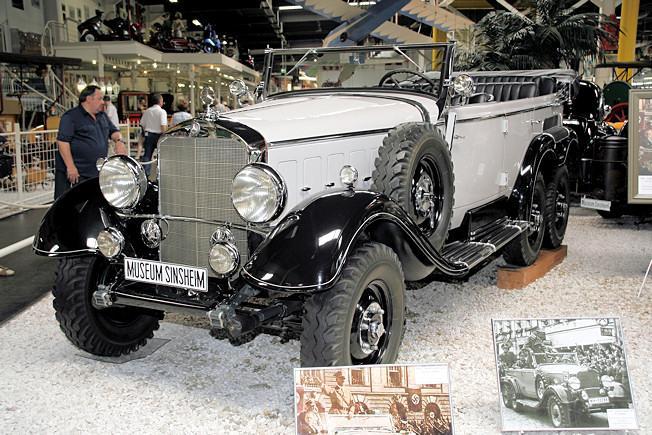El Mercedes G4 original del Führer