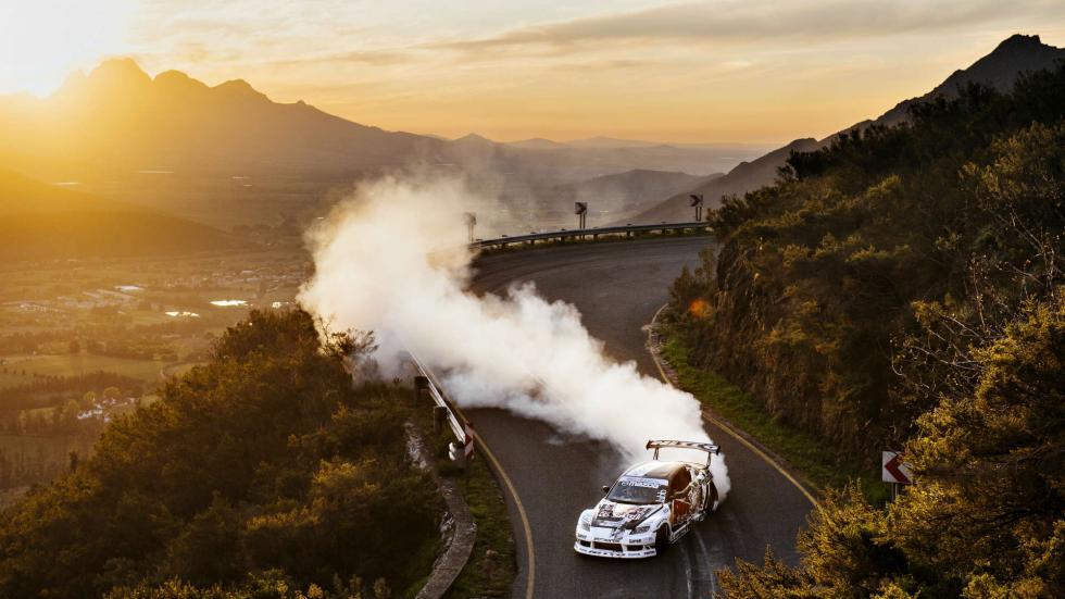 Mike Whiddett Drift en Sudafrica