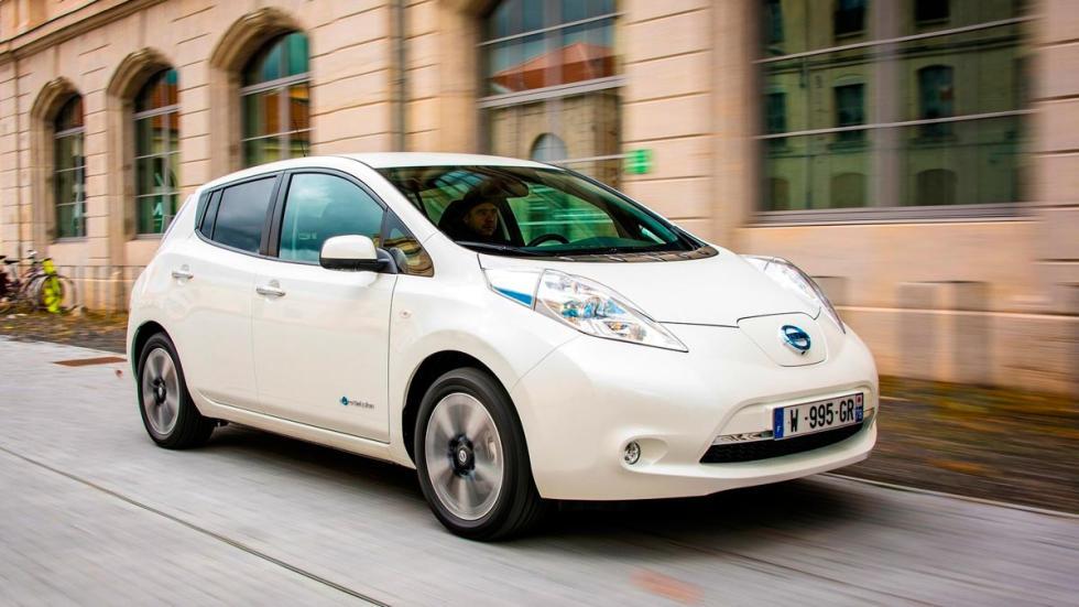 Nissan Leaf coches eléctricos autonomía urbanos
