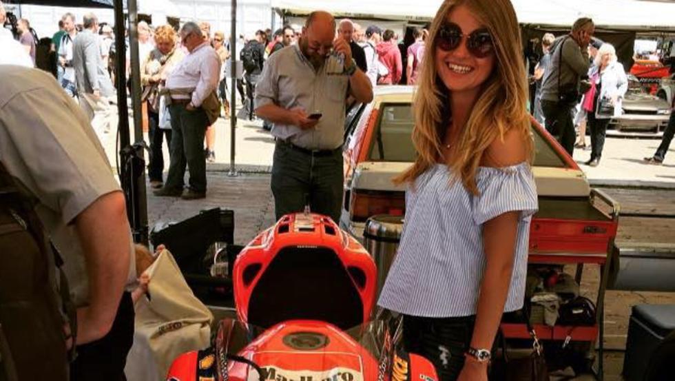 Las novias de Max Verstappen: Seychelle De Vries