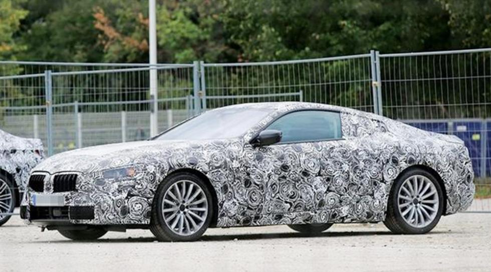 El nuevo BMW Serie 8, en su primera foto espía