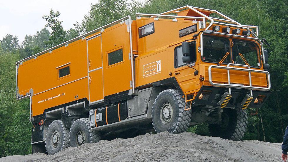 Orangework MAN KAT 1A1
