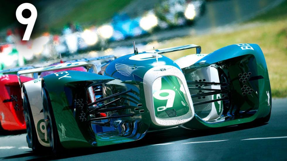 Prototipos de Le Mans del futuro 2030 LMP1 concurso de diseño Michelin virtual
