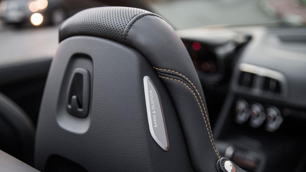 Prueba Audi R8 V10 Spyder deportivo descapotable amarillo altas prestaciones