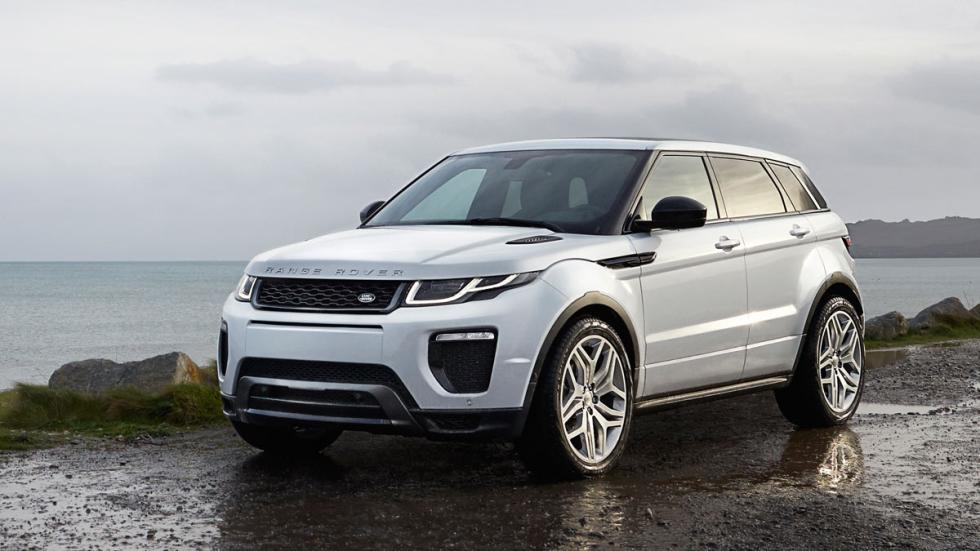 Range Rover Evoque SUV lujo inglés land