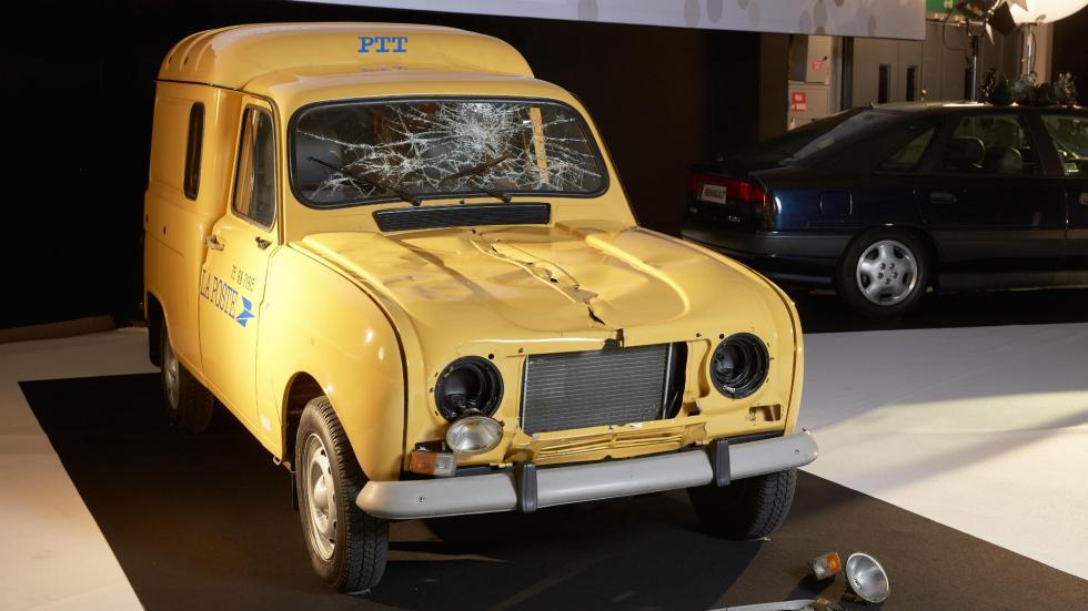Renault 4 fourgonnette La Poste