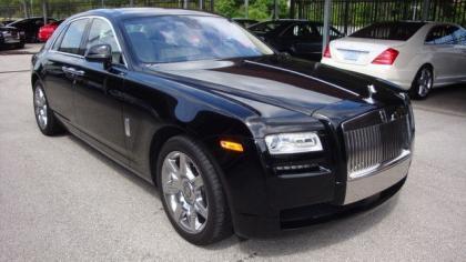 Rolls-Royce Ghost EWB (Extended Wheelbase)