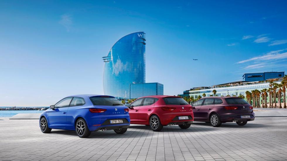 Seat León 2017 compacto nuevo restyling 2016 presentacion novedades ST SC FR