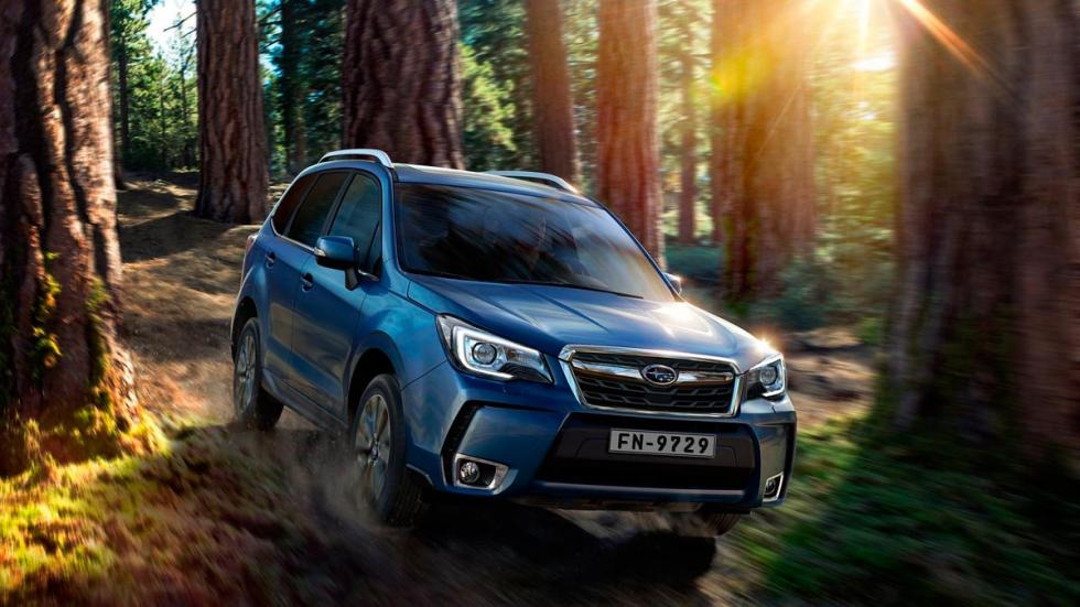 Subaru Forester suv off-road 4x4 todo terreno