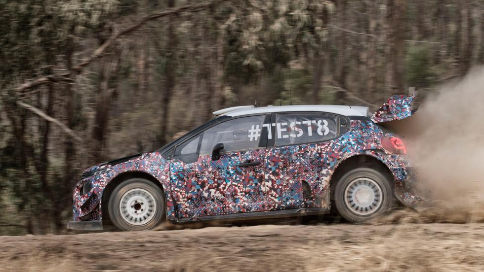 Test Citroen C3 WRC 2017 (IX)
