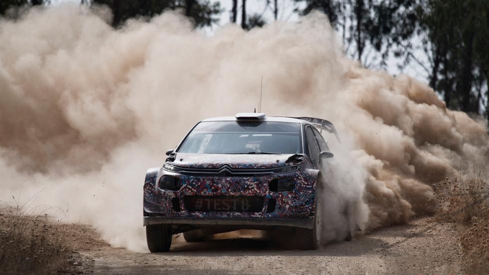 Test Citroen C3 WRC 2017 (VI)