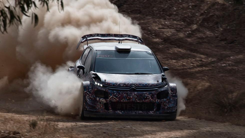 Test Citroen C3 WRC 2017 (VII)