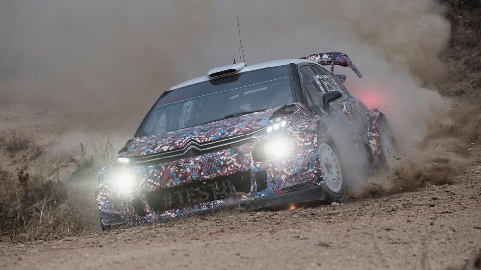 Test Citroen C3 WRC 2017 (VIII)