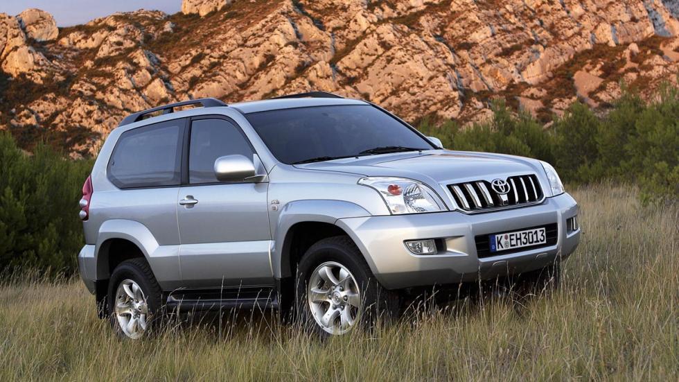 Toyota Land Cruiser SUV alta gama todo terreno
