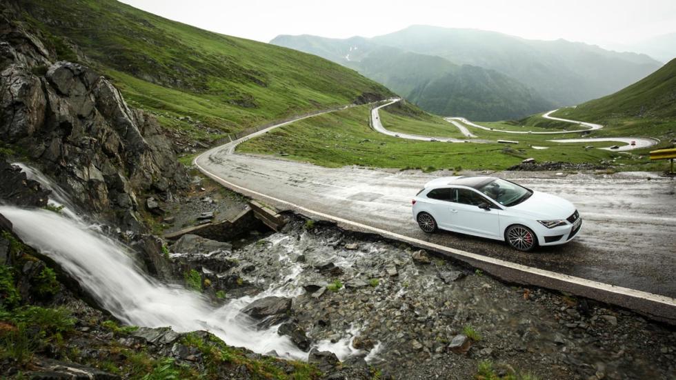 Transfagarasan, Rumanía mejores carreteras espectacular seat leon cupra