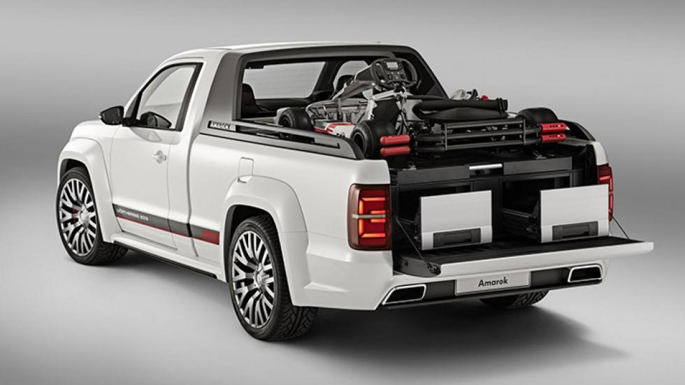 Volkswagen Amarok pick-up power-pickup power concept todo terreno