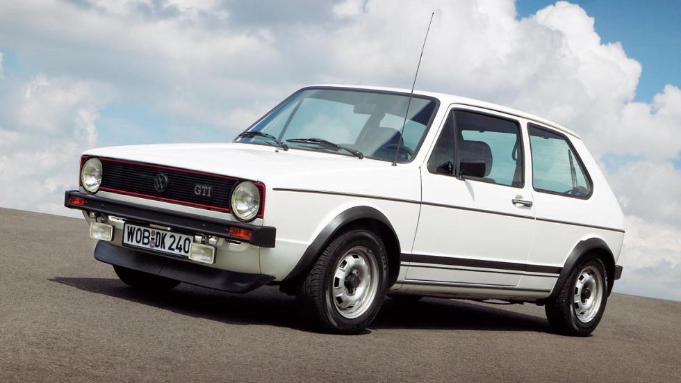 Volkswagen Golf GTi MK1 1 I primero blanco clasico deportivo