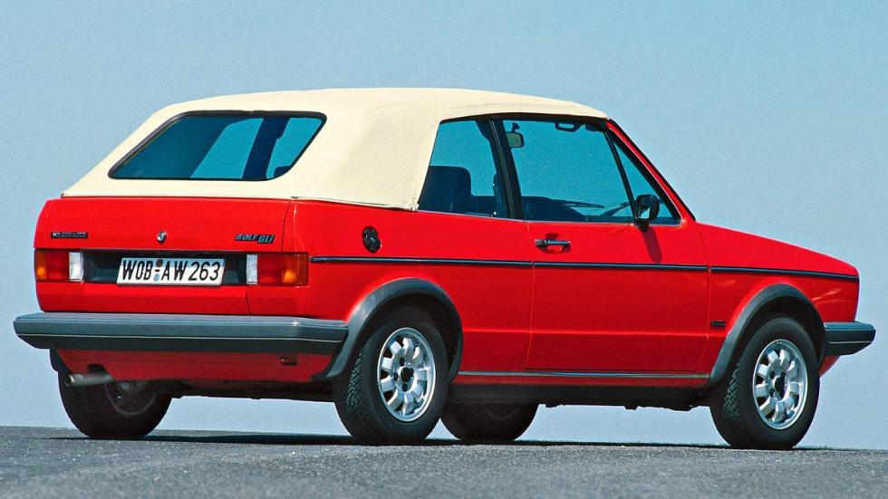 Volkswagen Golf I Cabrio MK1 MKi Cabriolet descapotable compacto clásico