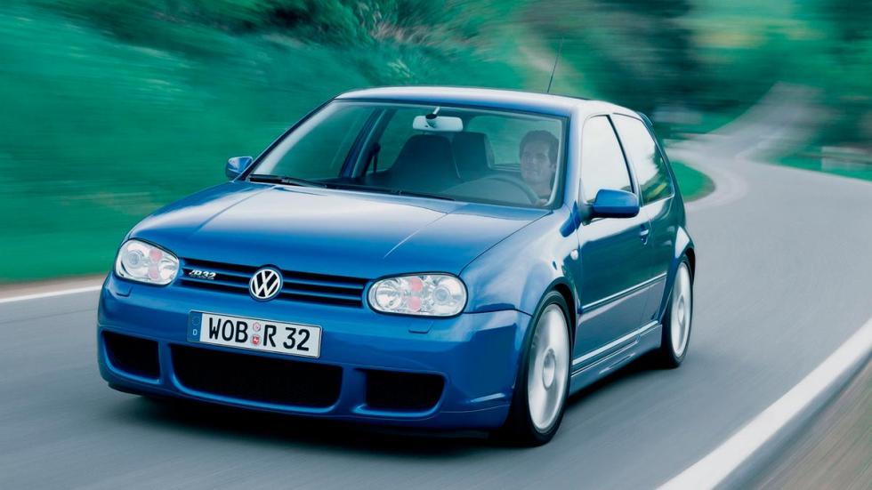 Volkswagen Golf R32 IV MK4 deportivo compacto clasico azul
