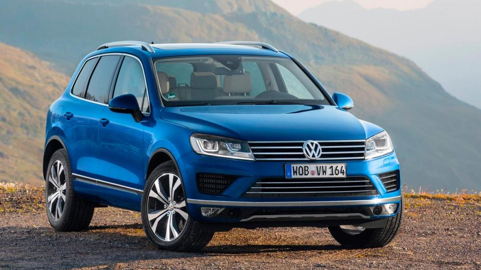 Volkswagen Touareg 2015 suv lujo todo terreno off-road 4x4