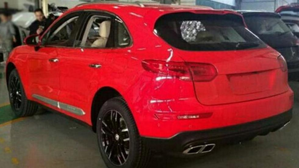 Zotye SR8 copia china coches chino porsche macan lujo SUV