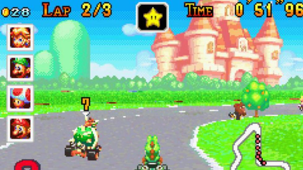 4 - Mario Kart: Super Circuit