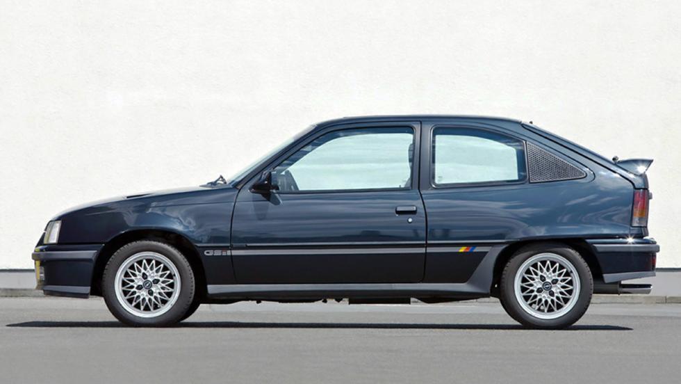 9 iconos GTI que marcaron una época - Opel Kadett GSI