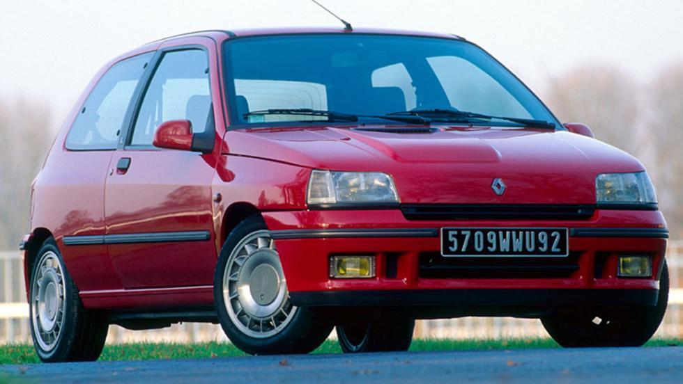 9 iconos GTI que marcaron una época - Renault Clio 16V