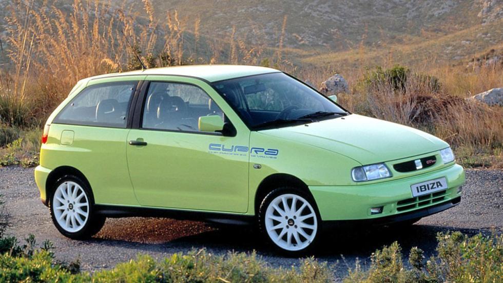 9 iconos GTI que marcaron una época - SEAT Ibiza Cupra