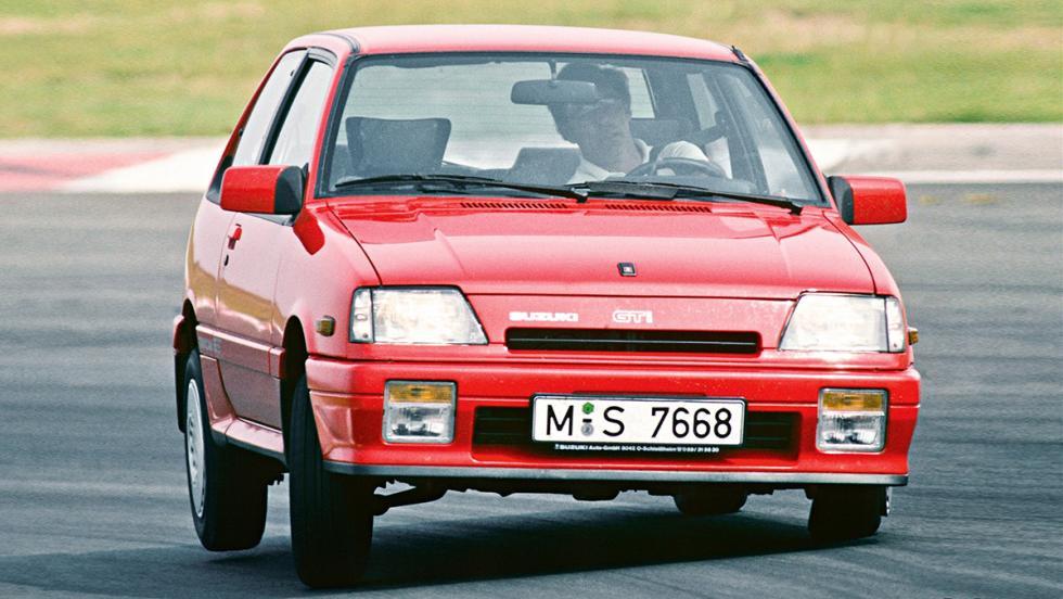 9 iconos GTI que marcaron una época - Suzuki Swift GTI