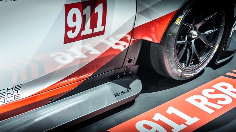 Así es el Porsche 911 RSR 2017