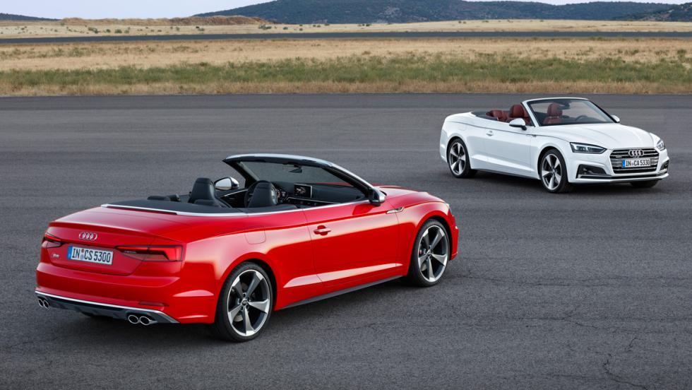 Audi A5 y S5 Cabrio (I)