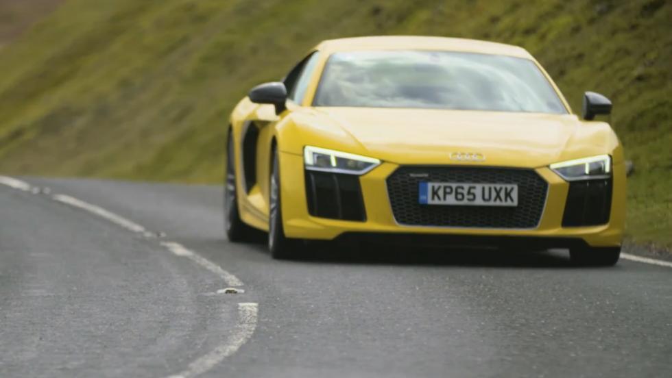 Audi R8 V10 Plus Chris Harris